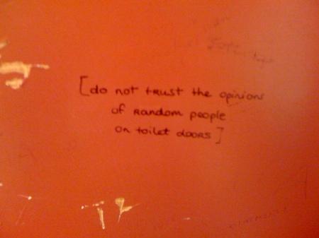 self reference un sieviešu padomi tualetēs